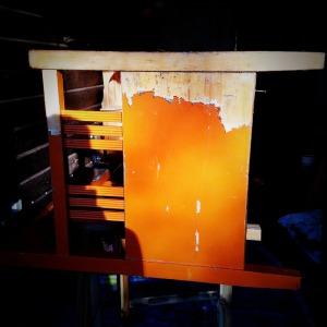 Begone orange paint!